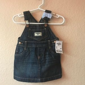 Oshkosh Jean Overalls Dress